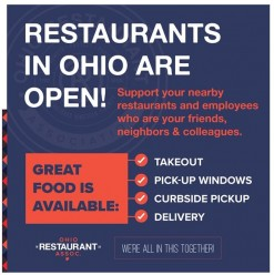 Restaurants In Ohio Are Open